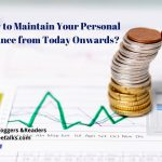 Maintain Your Personal Finance